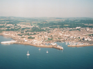 Aerial view of Penzance